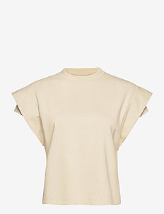 TSHIRT ELIX - blouses sans manches - ecru