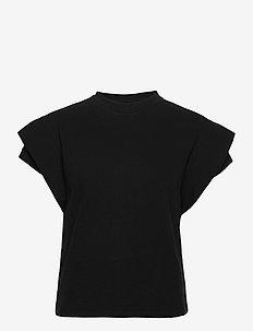 TSHIRT ELIX - blouses sans manches - noir