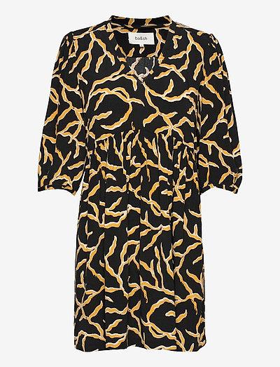 CONSTANCE DRESS - sommerkleider - black