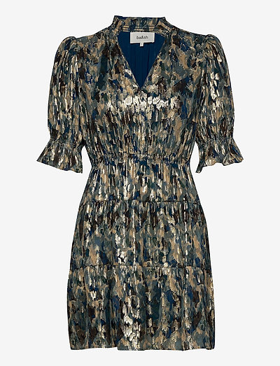GLORIA DRESS - party dresses - teal blue