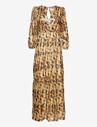 GULLIAN DRESS - maxi dresses - ochre