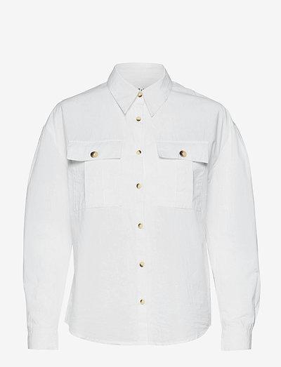PEPA SHIRT - langärmlige hemden - white