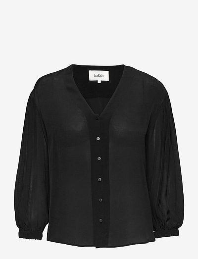 ULTRA BLOUSE - langärmlige blusen - black