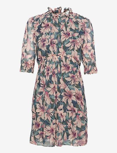 BETTY DRESS - hverdagskjoler - turquoise