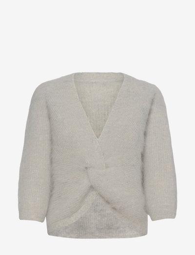 FILL JUMPER - cardigans - light grey
