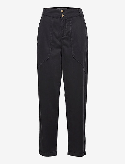 PACO PANTS - rette bukser - carbone