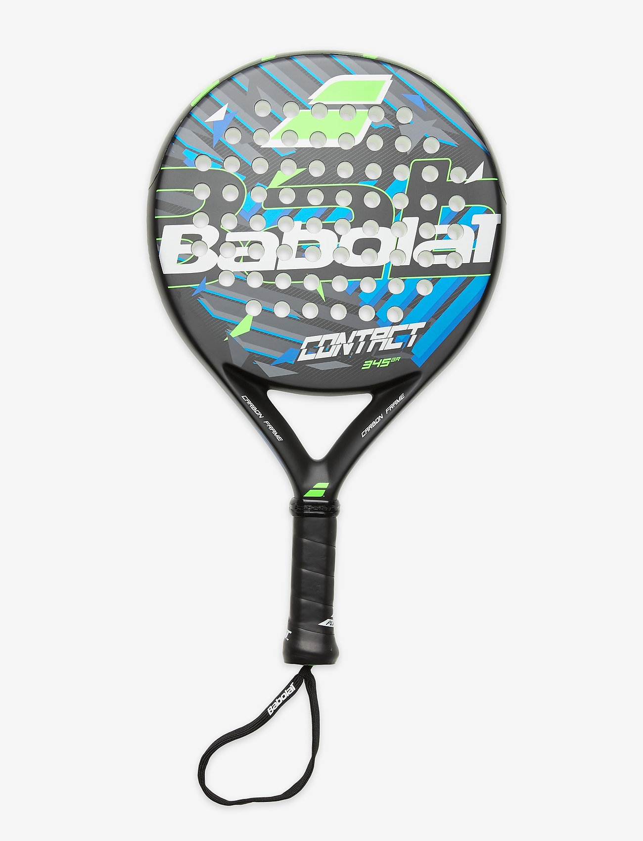 Babolat - CONTACT Padel Racket - padel rackets - black green blue - 0