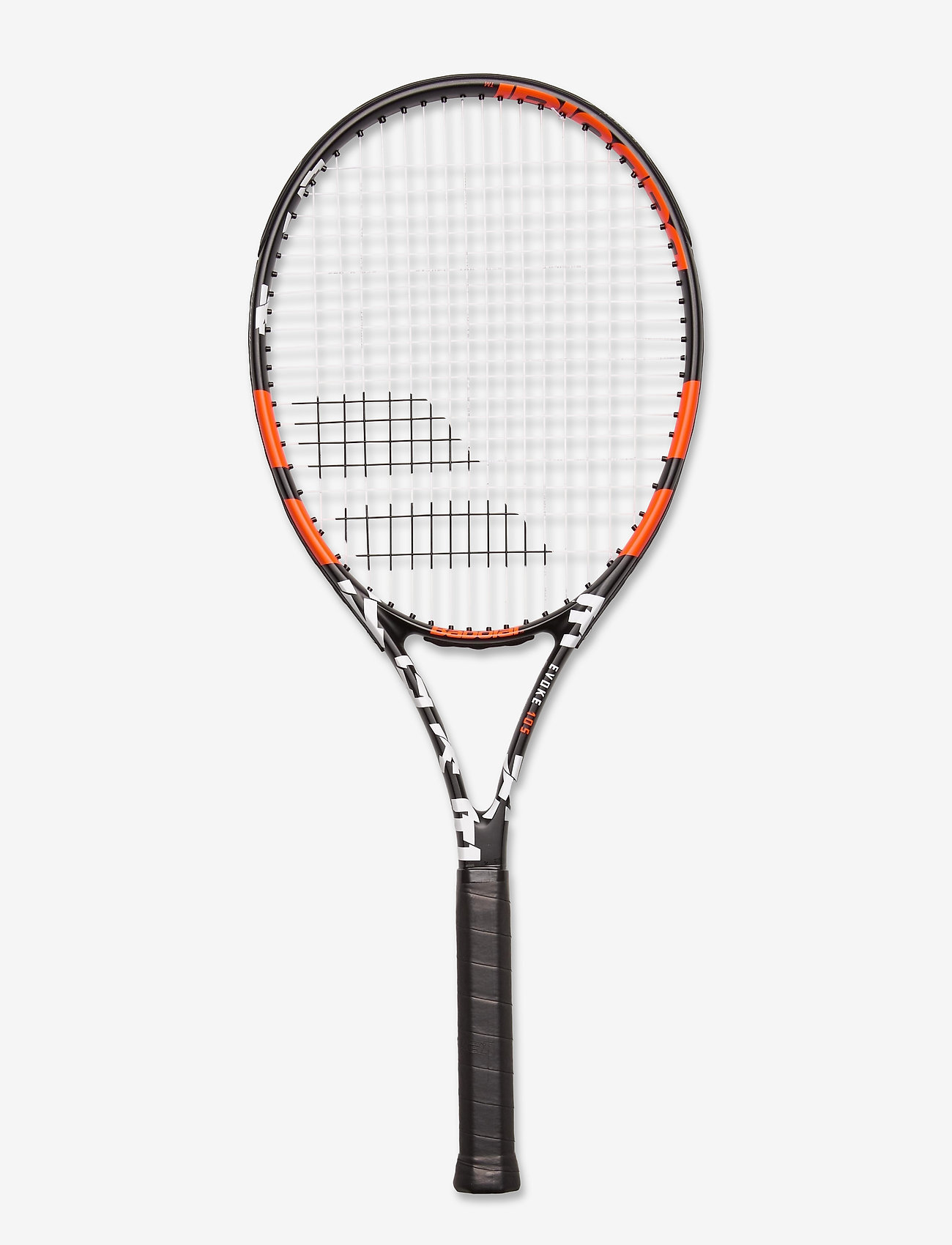 Babolat - EVOKE 105 STRUNG - tennisrackets - 162 black orange - 0