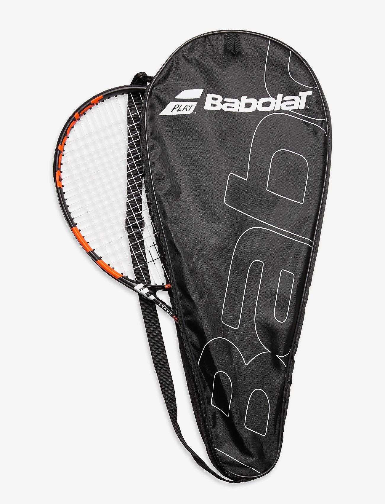Babolat - EVOKE 105 STRUNG - tennis ketcher - 162 black orange - 1