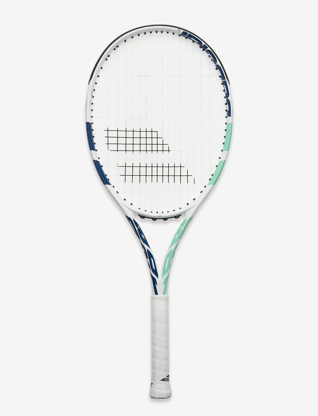 Babolat - BOOST DRIVE WOMEN STRUNG - tennischläger - 353 white blue green - 0