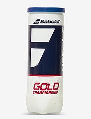 Babolat - Babolat GOLD CHAMPIONSHIP X3 - ballen en accessoires - 113 yellow - 0