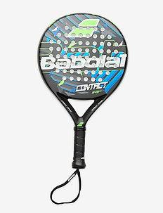 CONTACT Padel Racket - padel rackets - black green blue