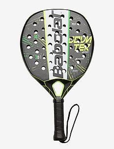 COUNTER VERON - padel rackets - 357 black white yellow