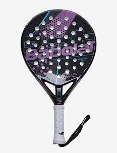DEFIANCE WOMAN - padel rackets - 196 black purple