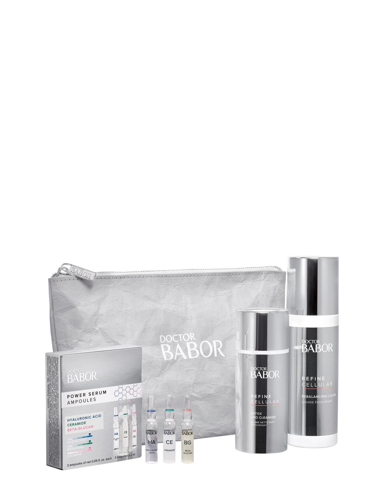 Doctor Babor Refine Set 2021 Hudplejesæt Nude Babor