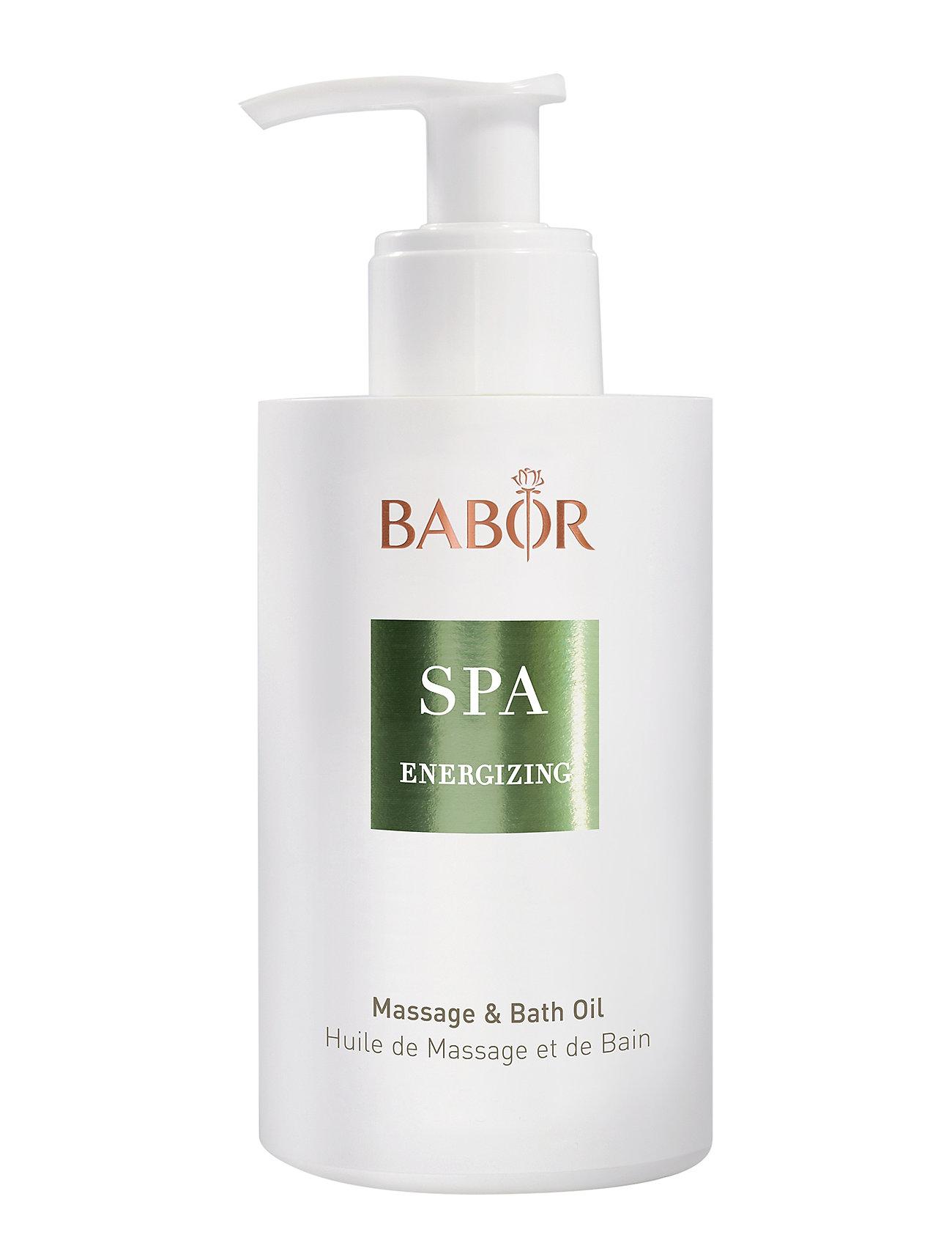 Babor Energizing Massage & Bath Oil - NO COLOR