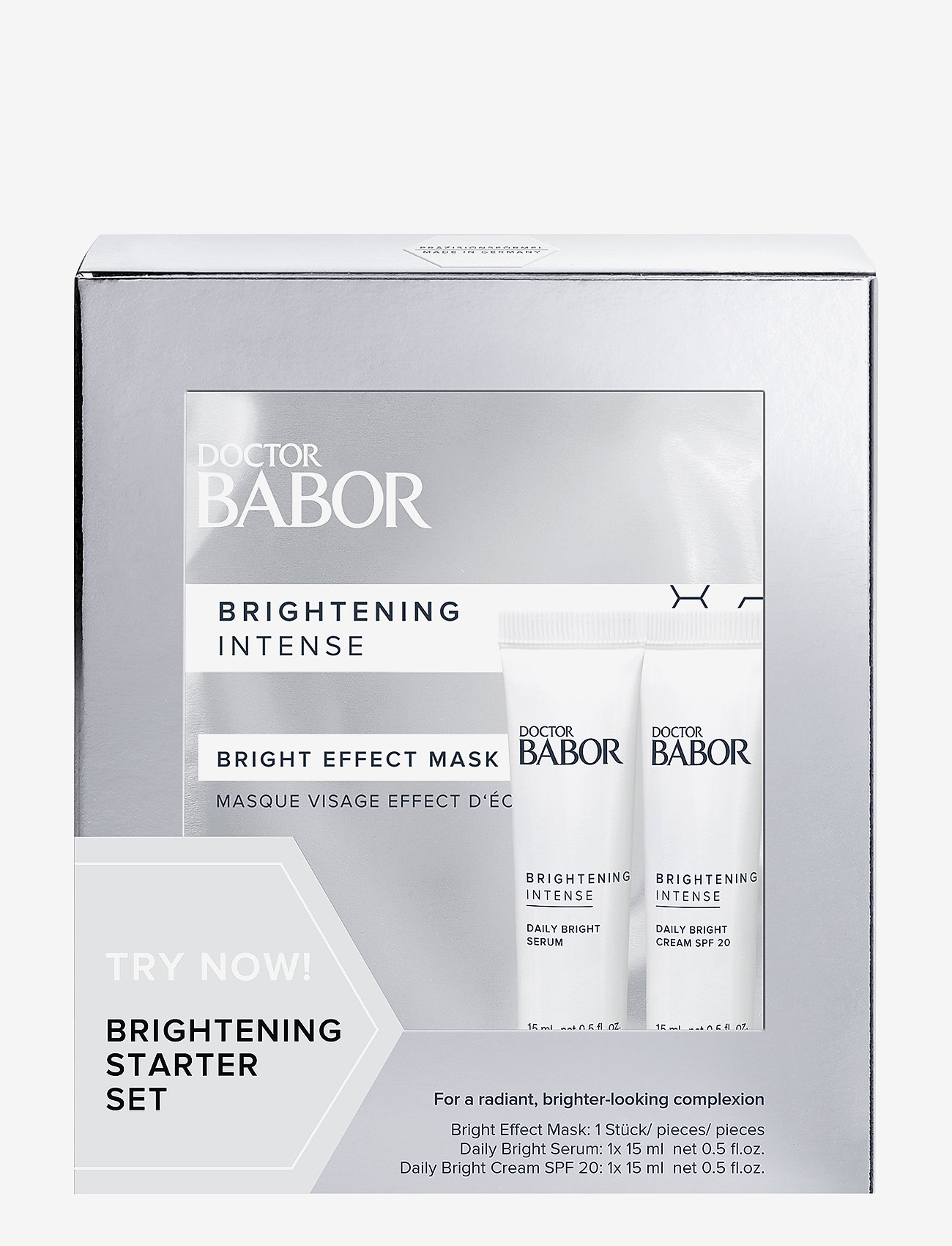 Babor - Brightening Try Me Set - ihonhoitosetit - no colour - 0