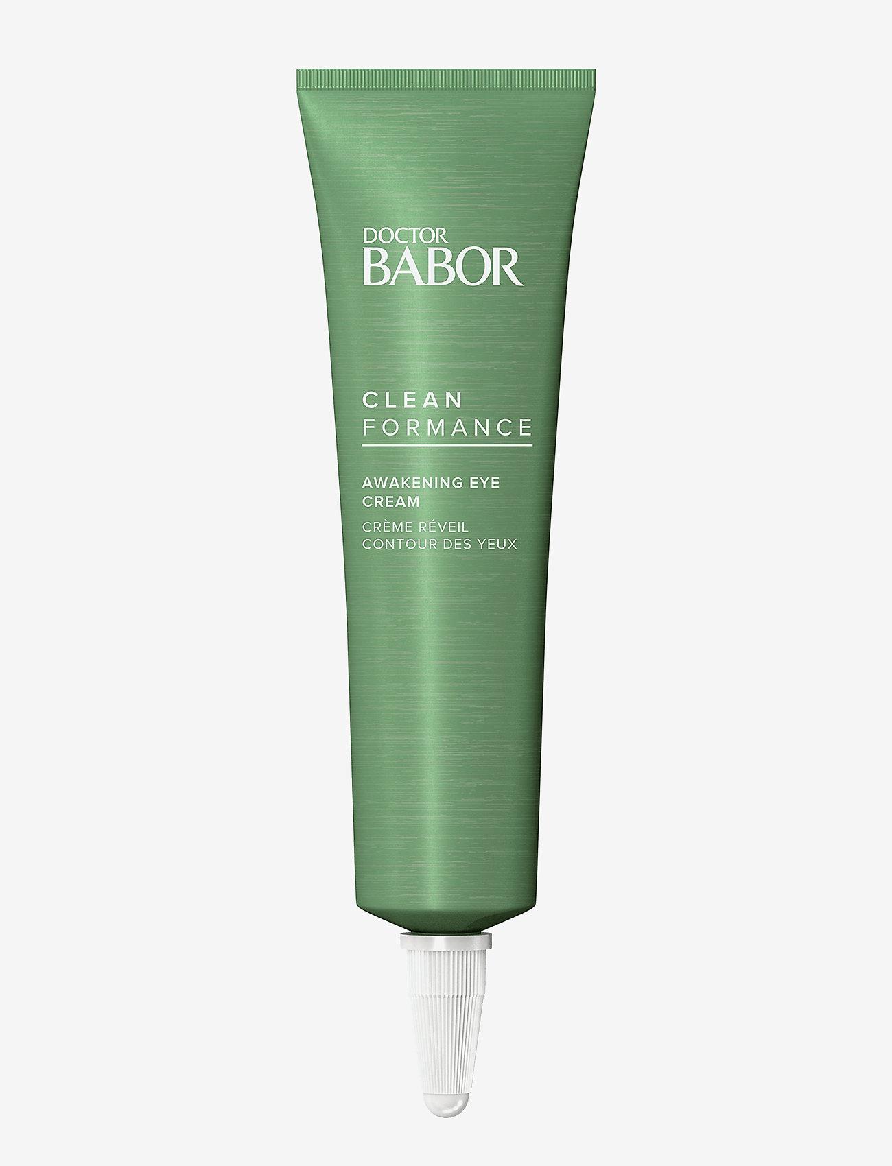 Babor - Cleanformance Awakening Eye Cream - silmät - clear - 0