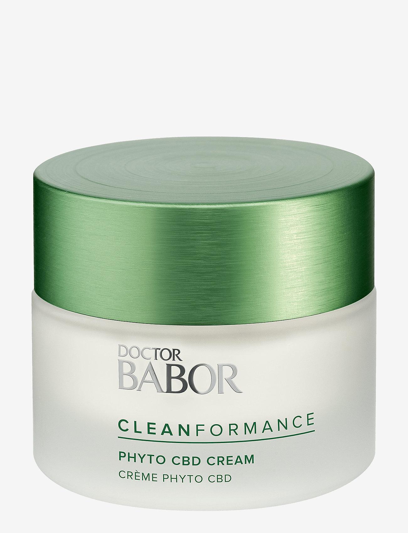 Babor - Cleanformance Phyto CBD 24h Cream - dagkräm - clear - 0