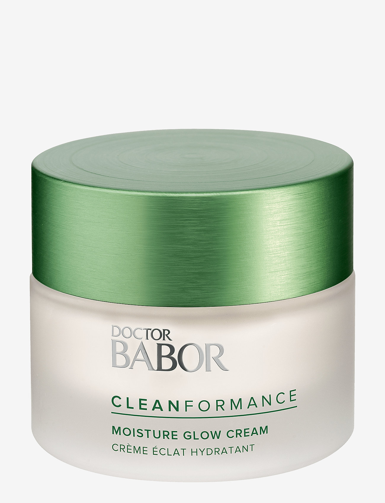 Babor - Cleanformance Moisture Glow Day Cream - päivävoiteet - clear - 0