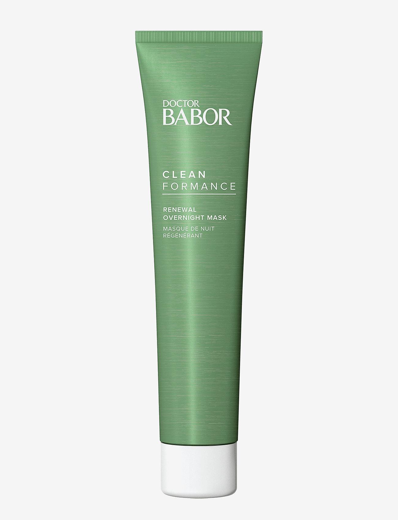 Babor - Cleanformance Renewal Overnight Mask - kasvonaamiot - clear - 0