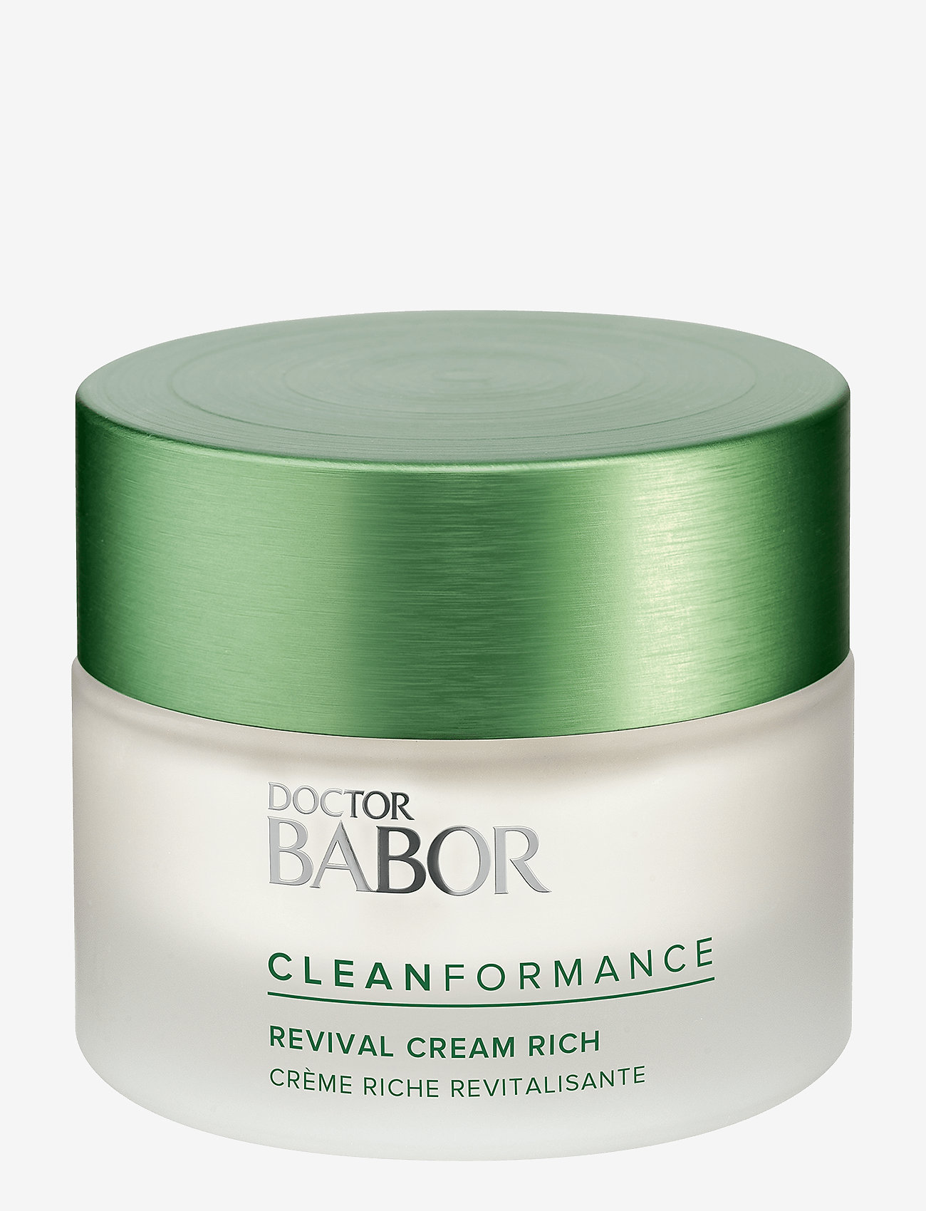 Babor - Cleanformance Revival Cream Rich - dagkräm - clear - 0