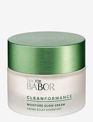 Babor - Cleanformance Moisture Glow Day Cream - dagkräm - clear - 0