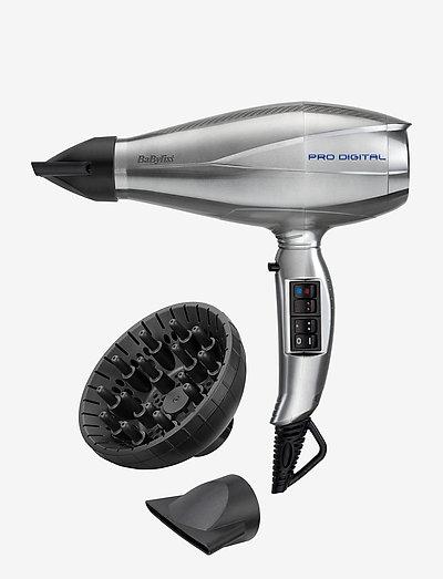 Pro Digital - hårfön - silver