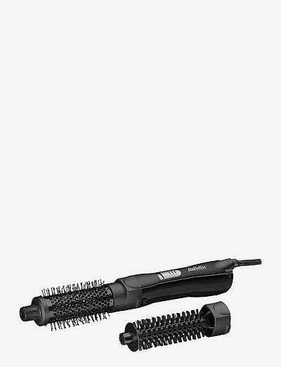 Shape & Smooth - värmeborste - black