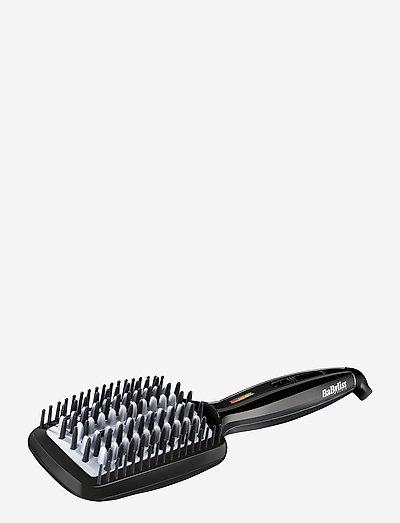 Smoothing Heated Brush - värmeborste - black