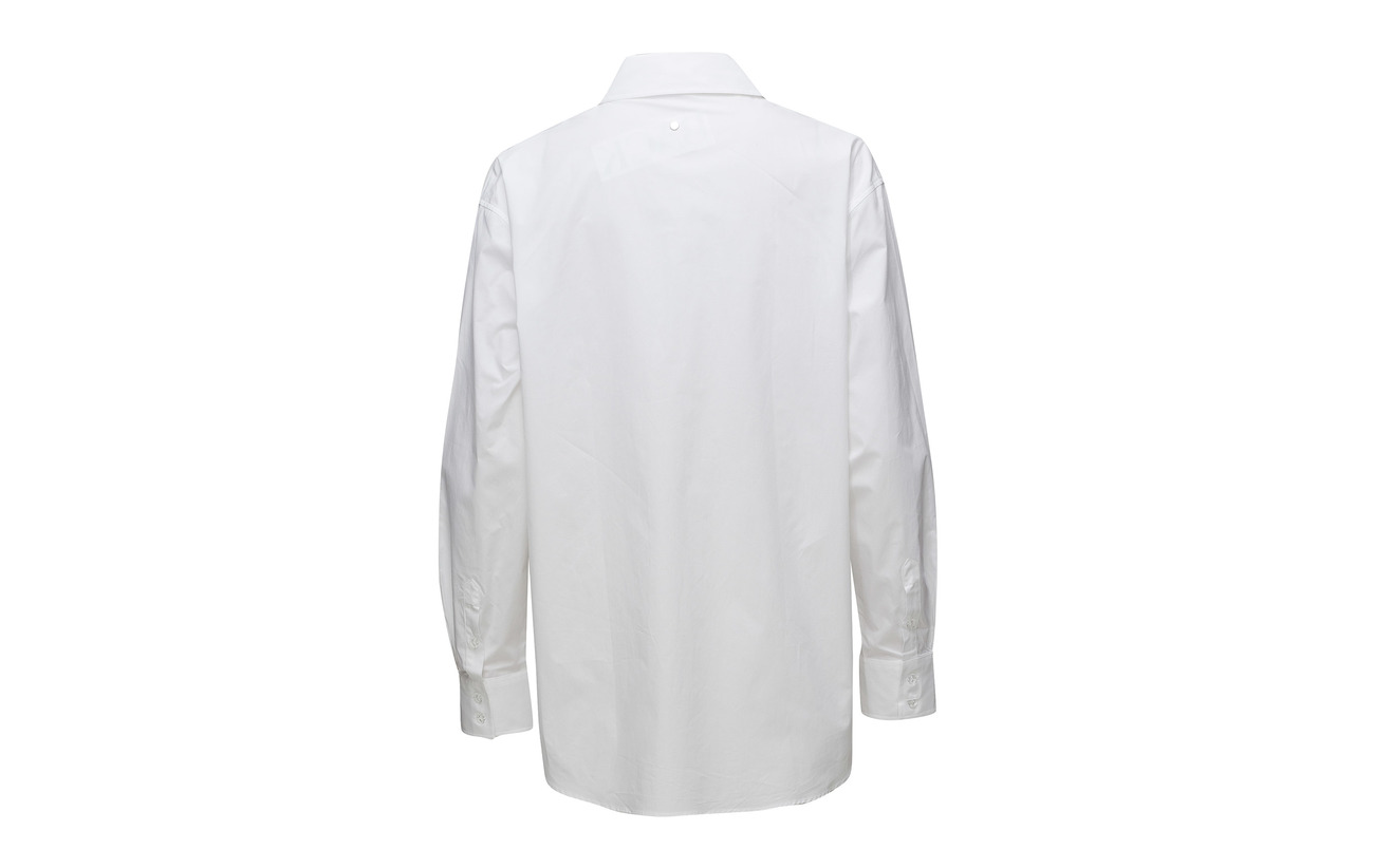 Coton Back Wasted 100 Shirt White xw61WB1q8F