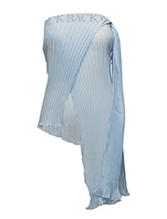 Fantasy pleat top - BALLAD BLUE