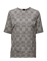 Zip t-shirt - DOGTOOTH