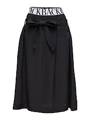 Logo worker skirt - BLACK