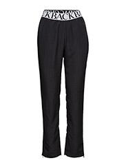 Logo elastic trouser - BLACK