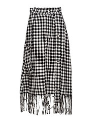 Button worker skirt - DOGTOOTH