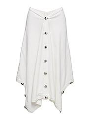 Button skirt - CREME