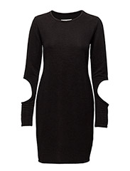 CUT OUT DRESS - BLACK