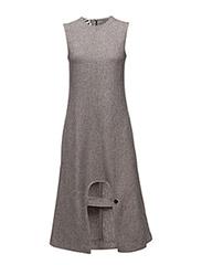 ABSTRACT DRESS - SALT & PEPPER