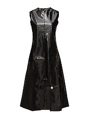 ABSTRACT DRESS - BLACK