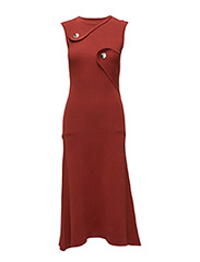 KNIT ABSTRACT DRESS - PICANTE