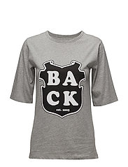 Box T-shirt - GREY MELANGE