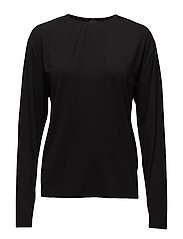 Big wrap LS top jersey - BLACK