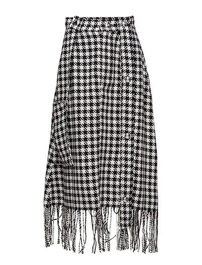 Button worker skirt - DOGTOOTH