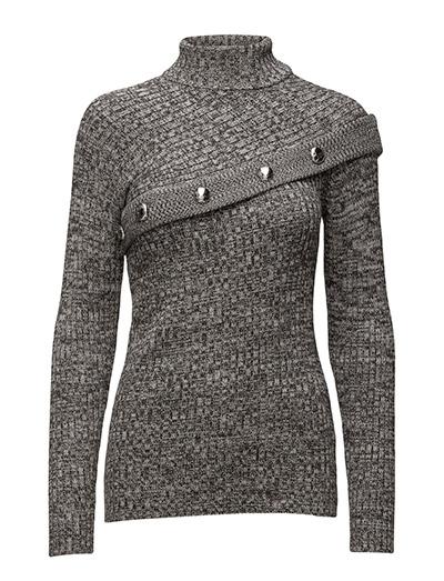 Knit button sweater - SALT & PEPPER