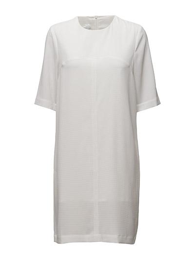 BACK U SPLIT T-SHIRT DRESS