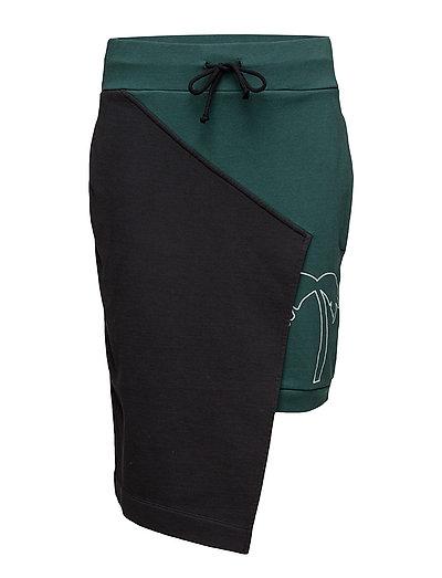 Insert sweat skirt - BLACK