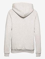 BALL - BALL RIMINI HOODIE - sweatshirts & hættetrøjer - lg melange - 1