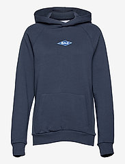 BALL - BALL RIMINI HOODIE - sweatshirts & hættetrøjer - navy - 0
