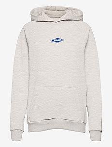 BALL RIMINI HOODIE - sweatshirts & hættetrøjer - lg melange
